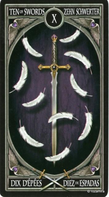 Готическое Таро Анны Стокс /Anne Stokes Gothic Tarot   (скан карт) 21ad4sl
