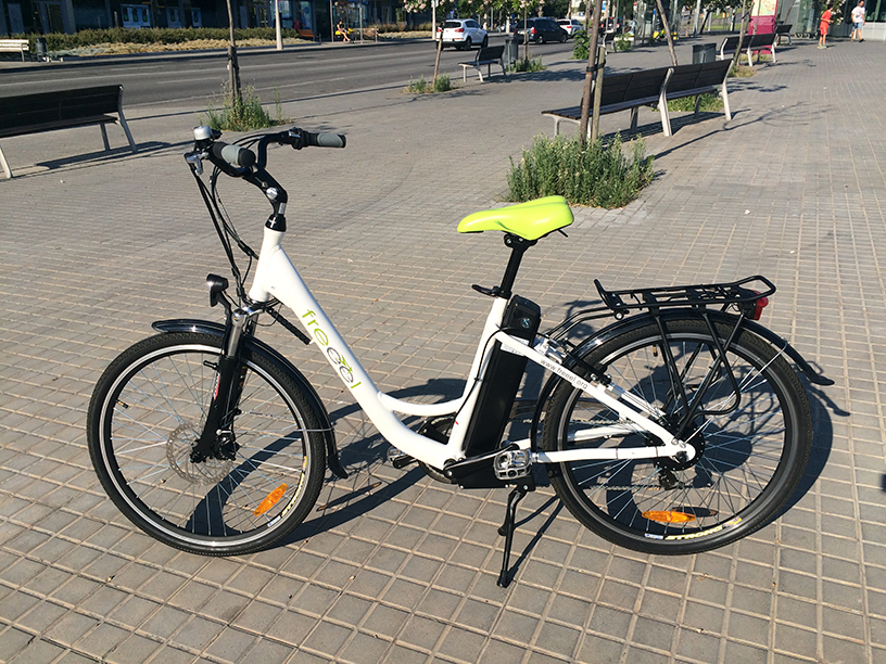 Vendo Bici eléctrica Freeel Ville 21dh2mp