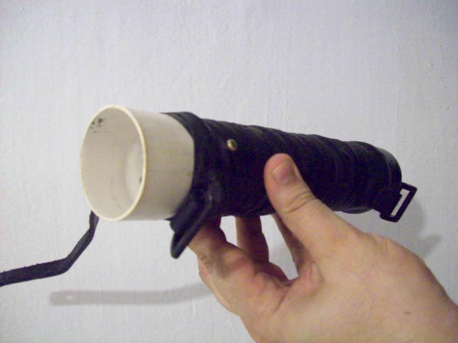 Aprovechando caños de PVC 24mgnpx