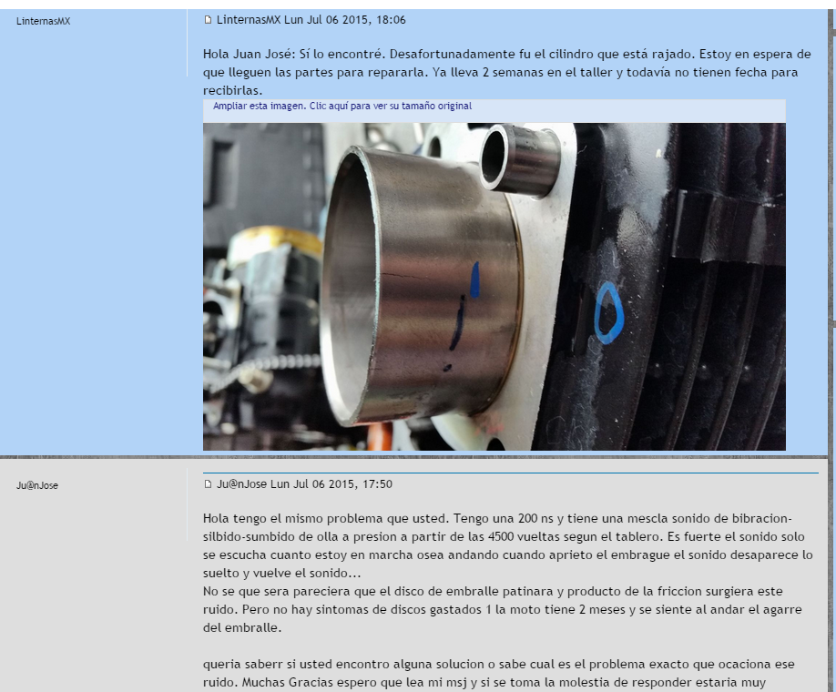 Ruido-Zumbido-silbido en motor a partir de 4500 rpm a 6500 rpm 24oc19y