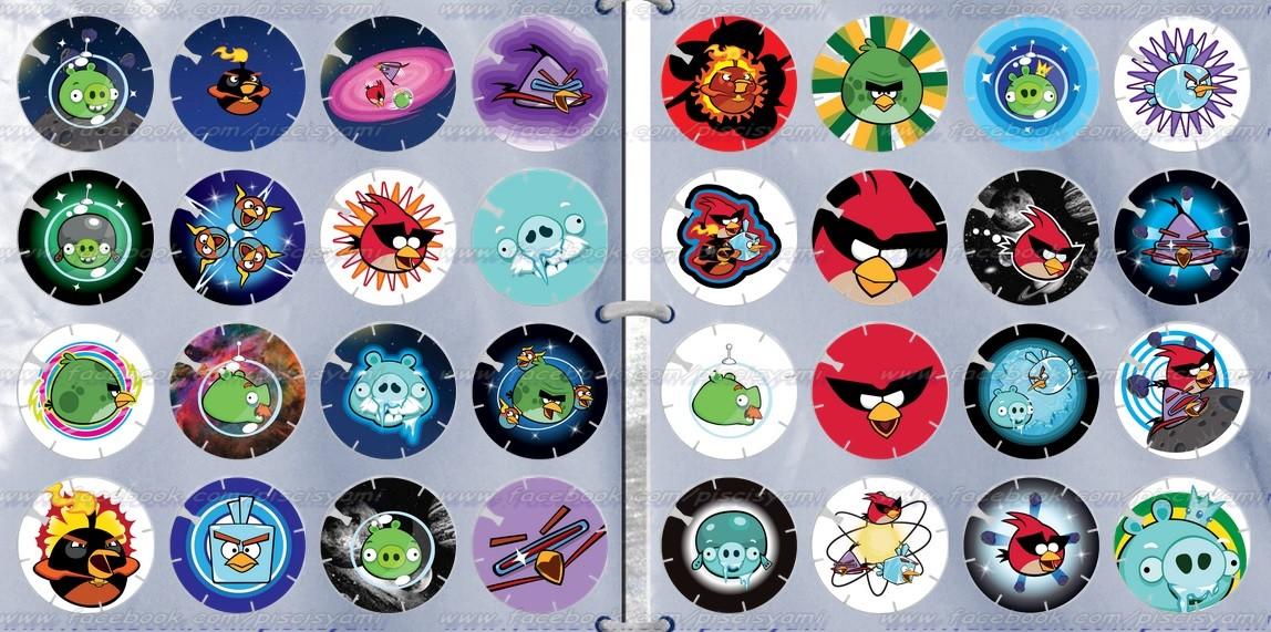 Vuela Tazos de Angry Birds Space 24ywnx4