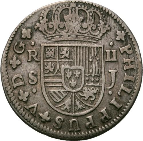 Los reales de Felipe V 25gzecw