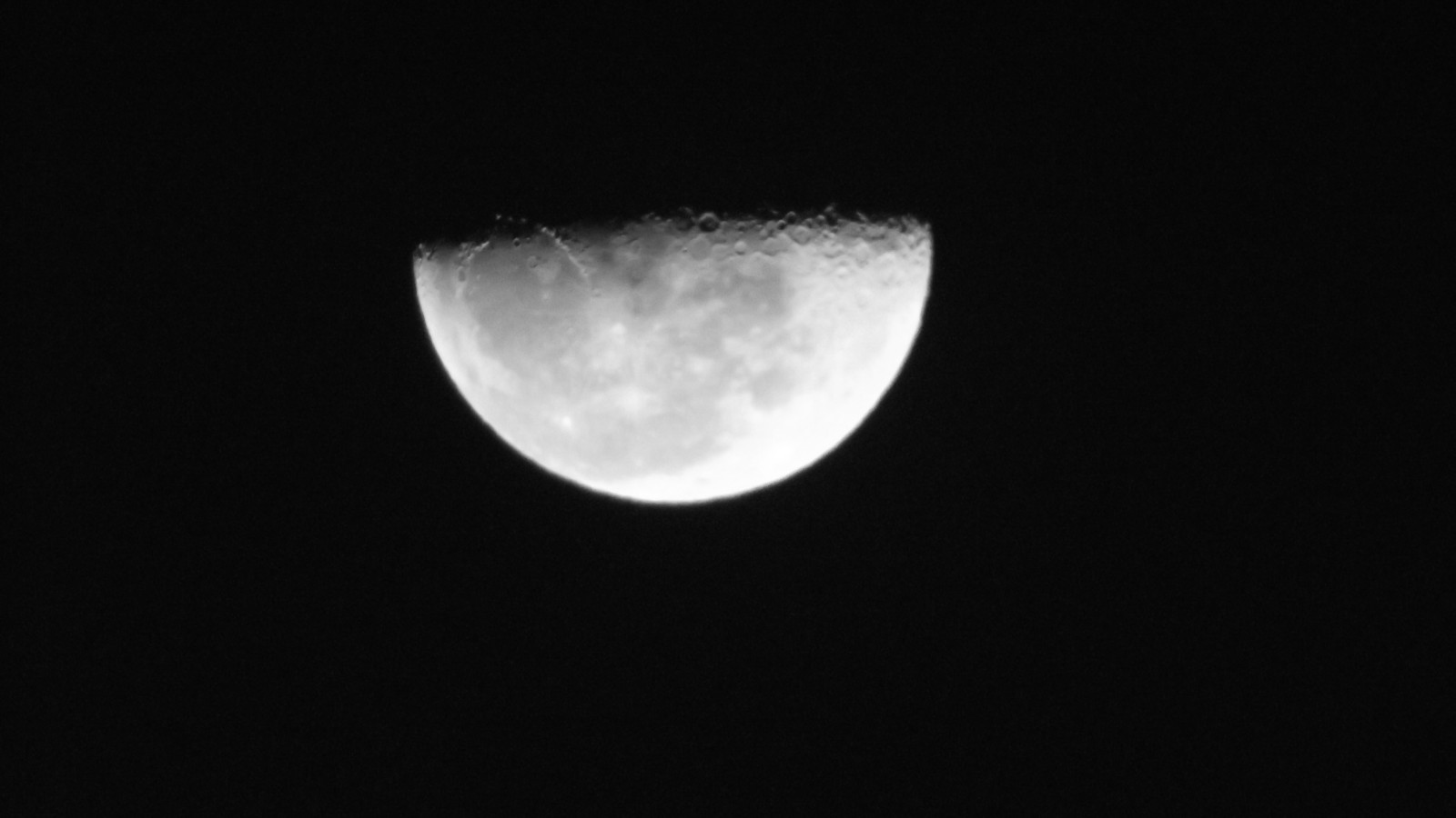 Fotos da Lua - Câmera compacta + Binóculo 10x50 25k1wys