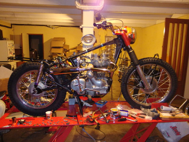 Royal Enfield ISDT 262w6sk