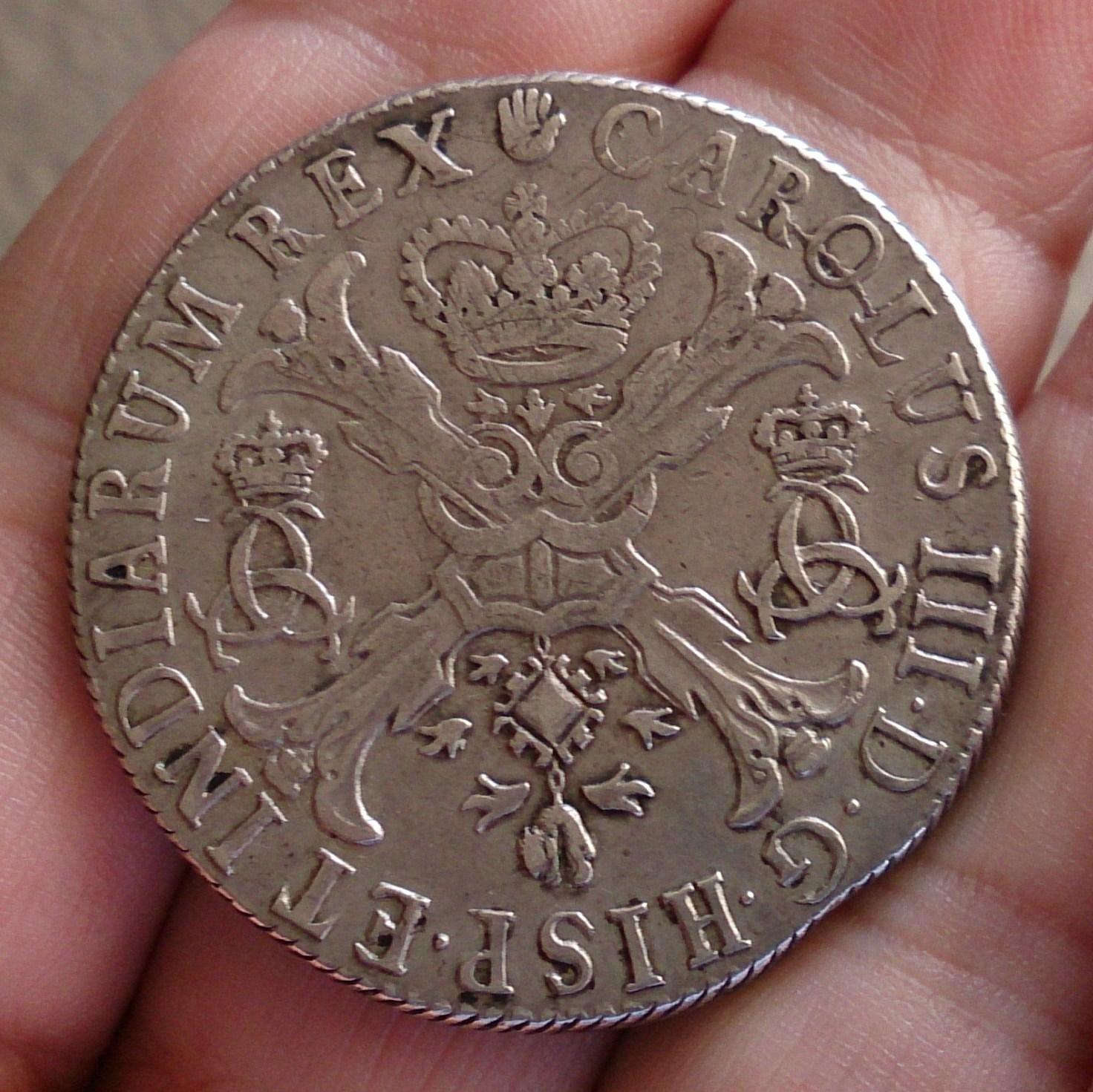 Patagón 1709. Carlos III (pretendiente). Brabante (Amberes) 27xjdhx
