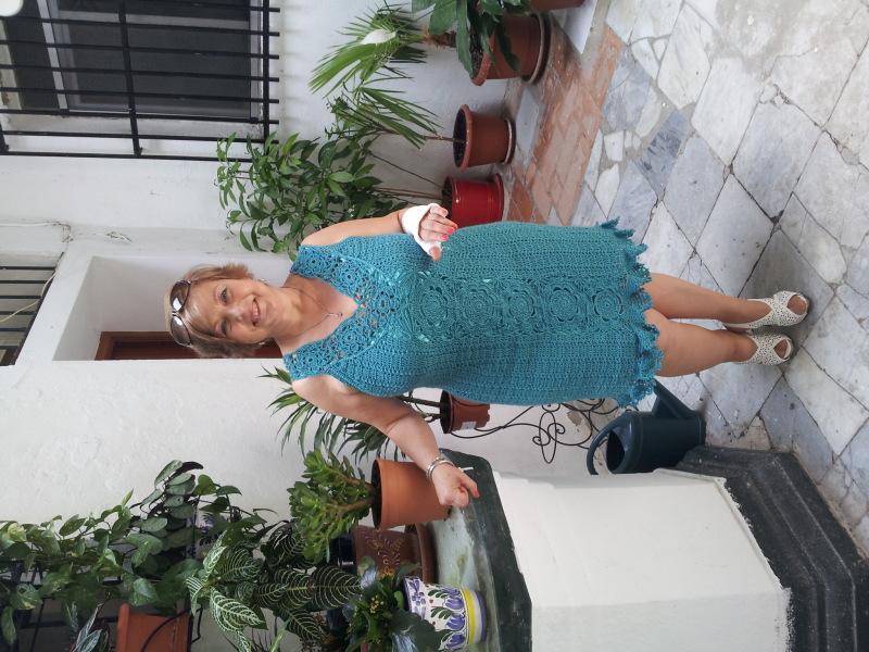 vestido - vestido de crochet 289ykw1