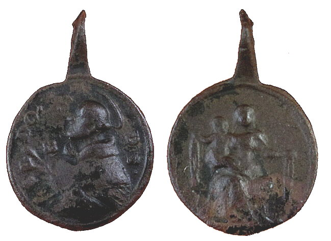 Proyecto recopilación medallas Santo Domingo de Guzmán  28l5c7s