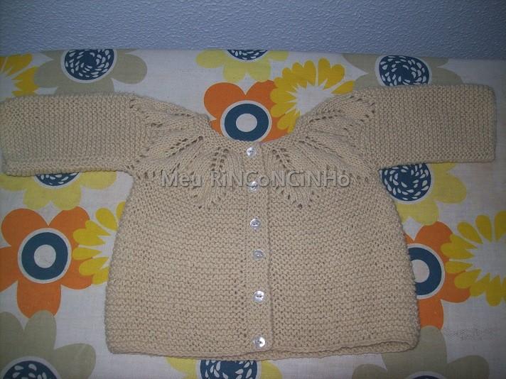 chaqueta - Chaqueta con canesu calado de hojas 29e4x1y