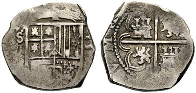 2 reales sevillanos de Felipe III 2a9342v