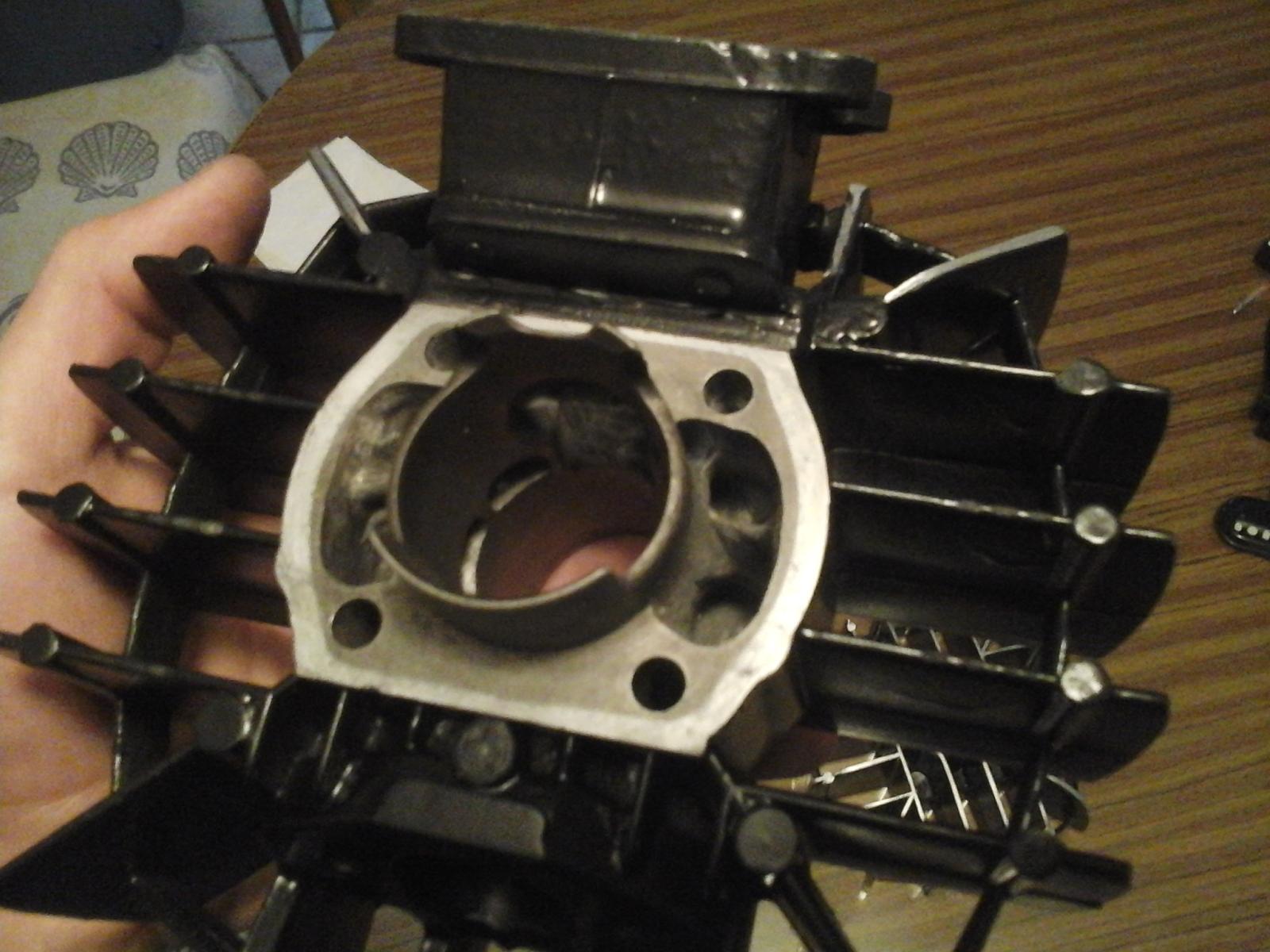 Mejorando cilindro Puch 50 4V 2a98os0