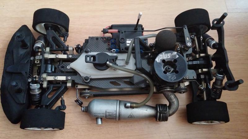VENDO coche / KM RACING HK1 y emisora ABSIMA CR3P 2cxgodg