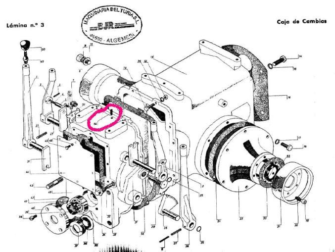 [BJR ME-T 3201] Ruido en caja de cambios al meter 2ª 2di0ihh
