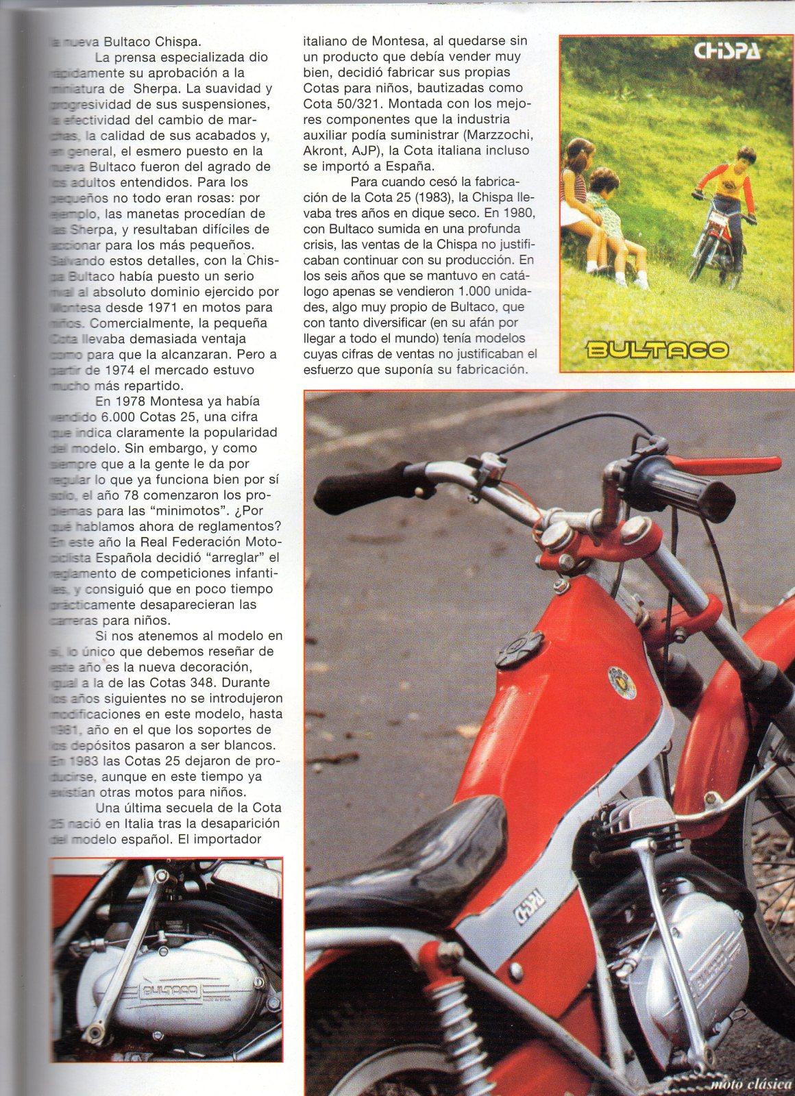 Comparativa Cota 25 con Bultaco chispa 2dwdpqs