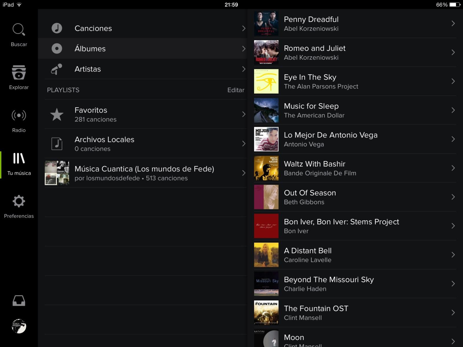 """""""Tu música"""" por fin en Spotify para iOS 2e1x288"""