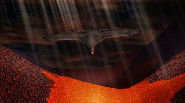 Gwaihir (Àguila Gigante) - LOTR 2ezog11