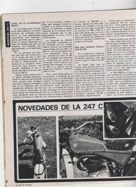 Montesa Cota 247 C 2hf6hvs