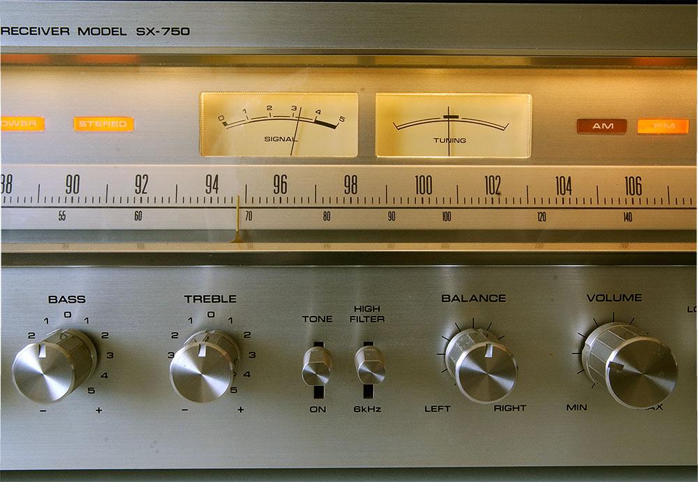 Pioneer SX-750 2i8da34