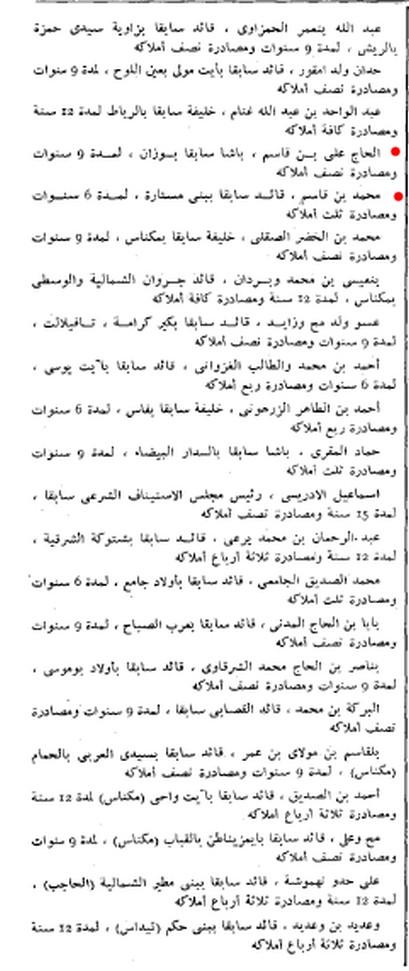 التصفيات الجسدية و عمليات التخوين المواكبة لاستقلال المغرب سنة 1956 - صفحة 2 2i9o8t0