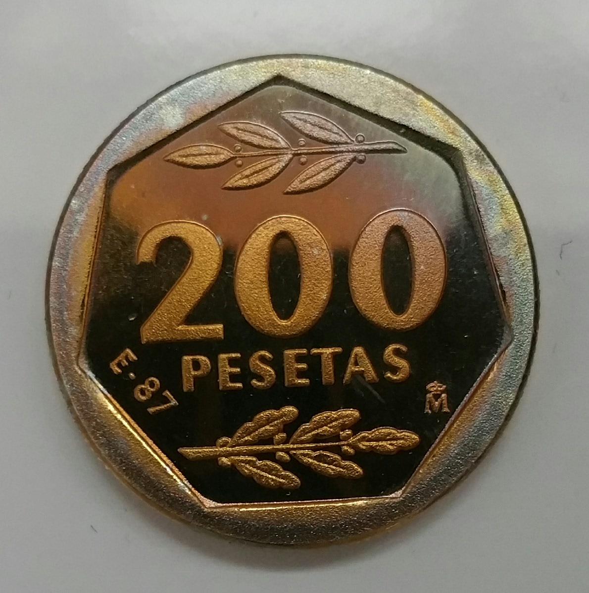 200 pesetas Juan Carlos I 1987 (serie E87) 2iwabd1