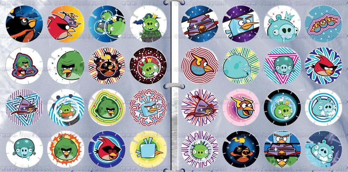 Vuela Tazos de Angry Birds Space 2j19bpc