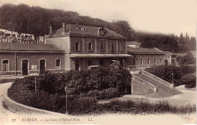 N - Gare d'Elbeuf ville (76) 2l2b10
