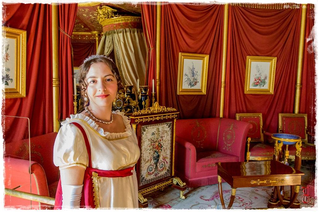 Francia - Castillo de la Malmaison (cerca de París) salida en traje primer imperio 10/05/2015 2lbfb75