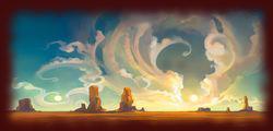 Złote pustynie