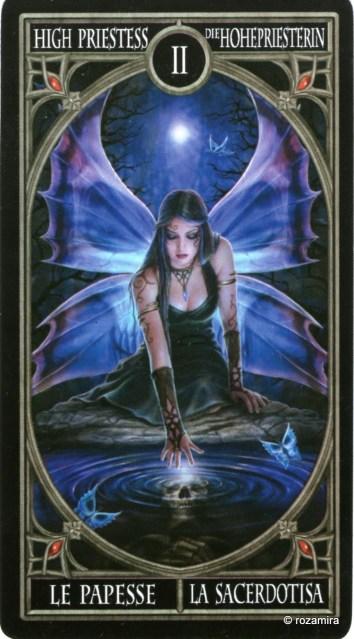 Готическое Таро Анны Стокс /Anne Stokes Gothic Tarot   (скан карт) 2lucjrb