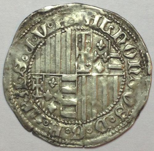 Carlino s/f (c.1442-1458) de Alfonso V de Aragón (I de Nápoles) 2lxi6it
