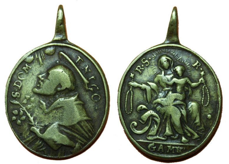 Proyecto recopilación medallas Santo Domingo de Guzmán  2mwilnm