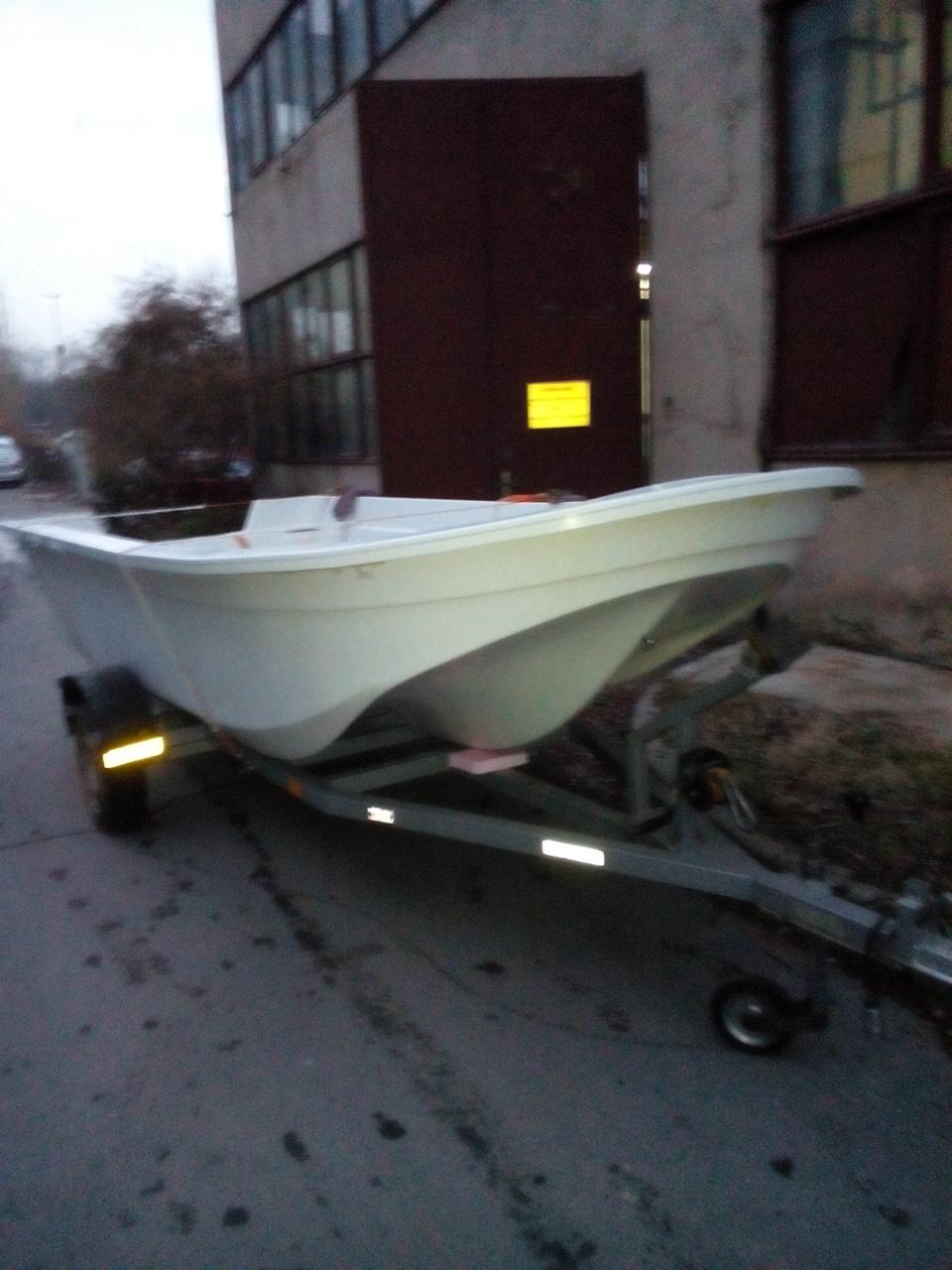 Стъклопластов тримаран Made in Bulgaria 2n6spzl