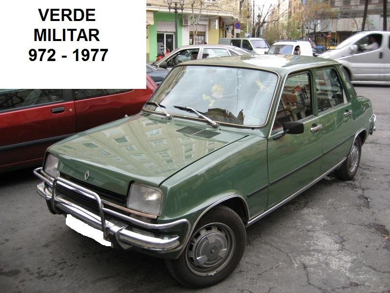Los colores de los Renault Siete y 7 2n6svfb