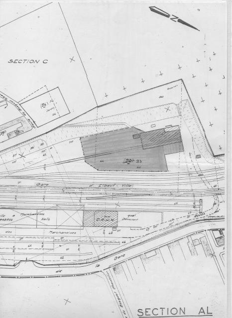 N - Gare d'Elbeuf ville (76) 2q03b81