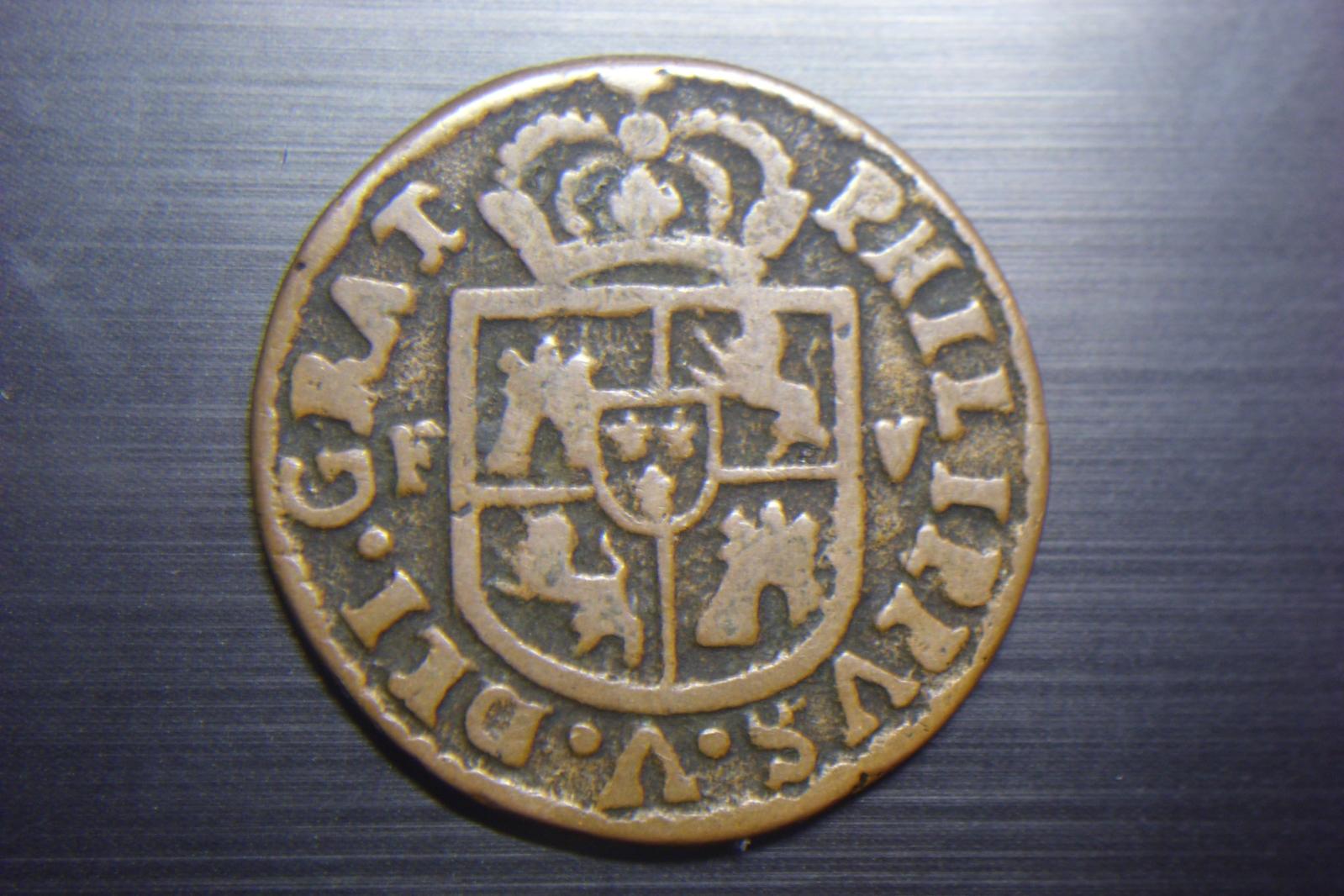 Seiseno de 1711, Felipe V. Valencia 2q3ccrb