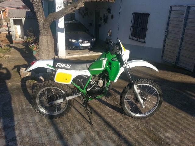 Mi nueva adquisición Rieju MR80 Verde 2qx2pug