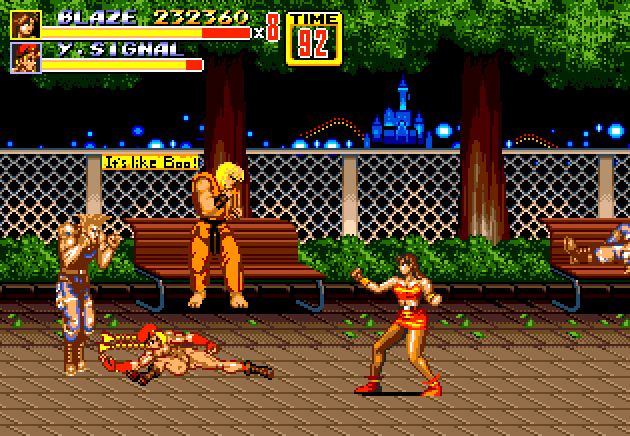 Streets of rage X  Street Fighter hack 2rnct5f