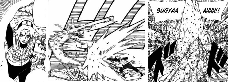 Sakura possui Força Bruta !? 2u9o8x2