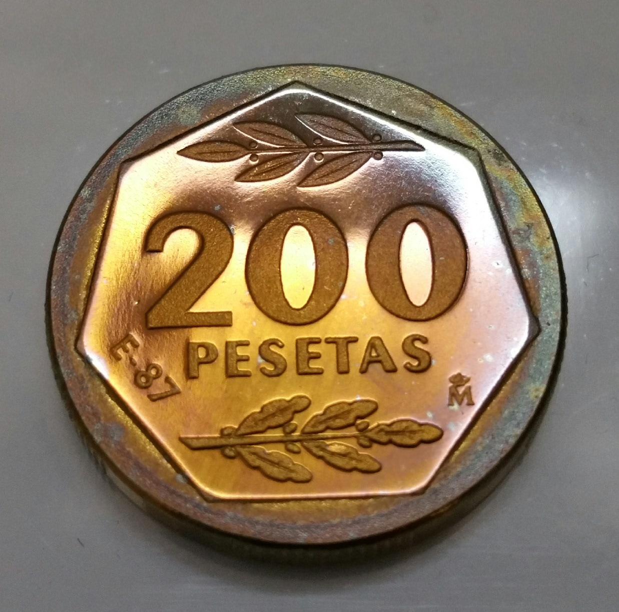 200 pesetas Juan Carlos I 1987 (serie E87) 2uhtwk4