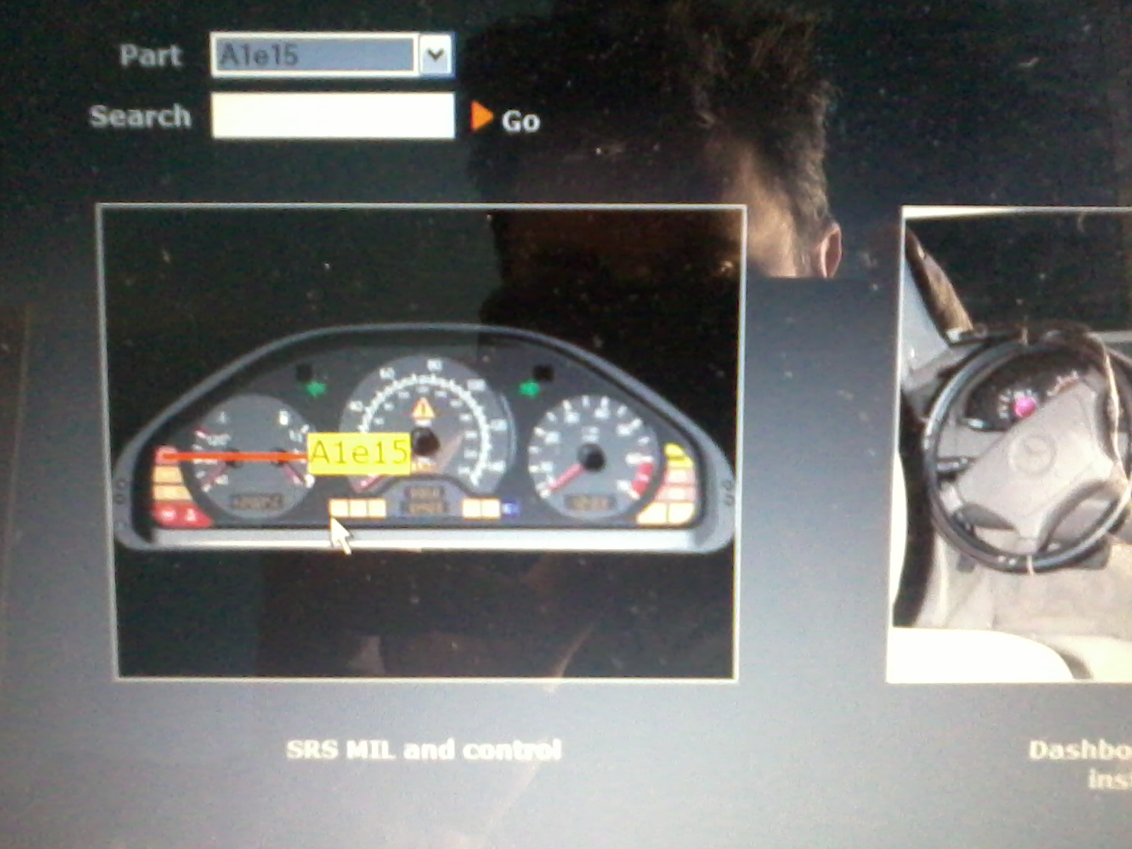 Ajuda Relé de Sobrecarga, Controle de estabilidade (ASR) e reset avarias Star Diagnósis (C280 98) 2uj708w