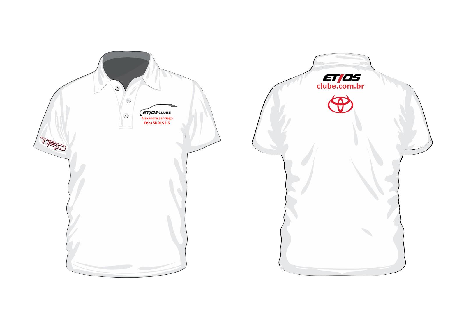 Novo Modelo de Camiseta do Clube 2v17rq9