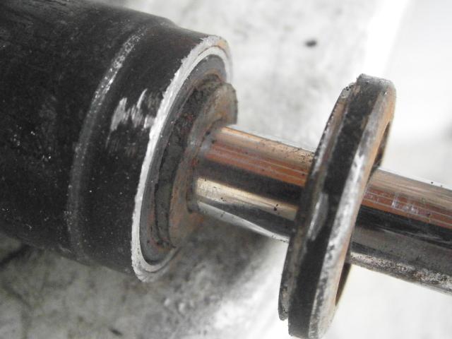 Intento de reparación amortiguadores Cobra MC 2yux086
