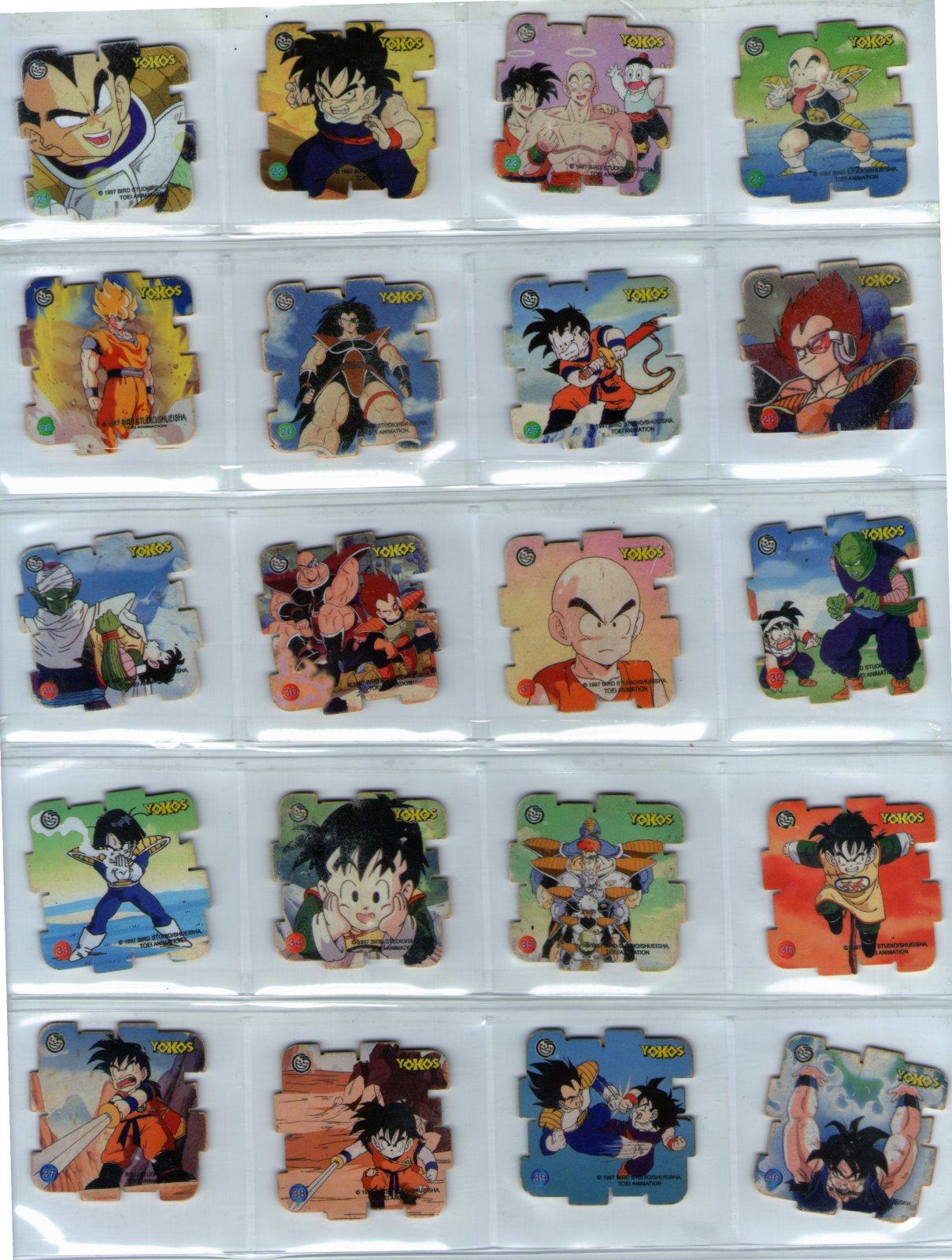 Yokos Dragon Ball Z de SABRITAS 2yvuozm