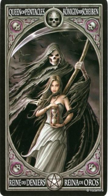 Готическое Таро Анны Стокс /Anne Stokes Gothic Tarot   (скан карт) 2zh349e