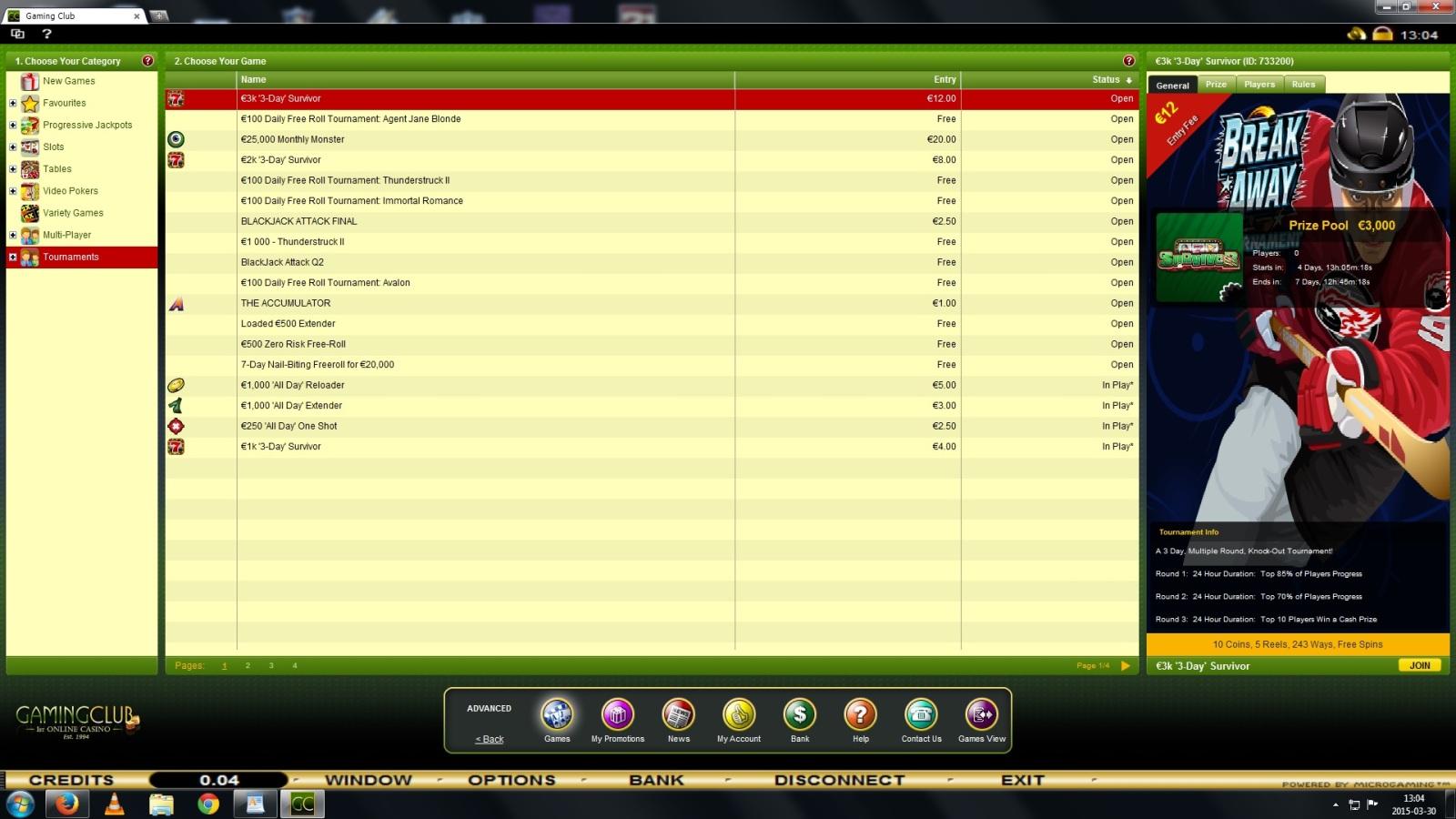 Darmowe turnieje kasynowe - freeroll - Page 12 30bdc1i