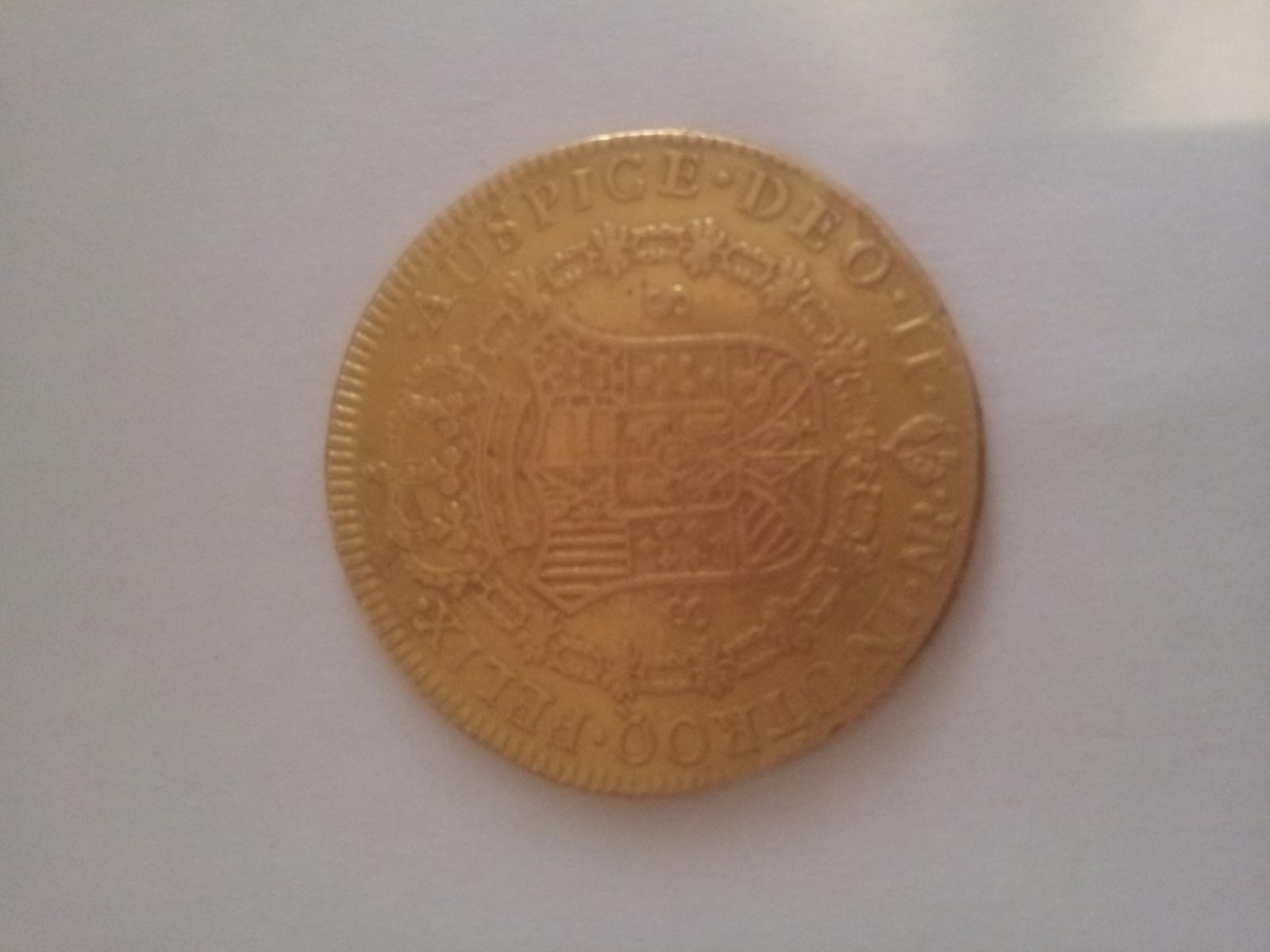 8 Escudos Carlos IV 1791 Nuevo Reino JJ 30tgmyr