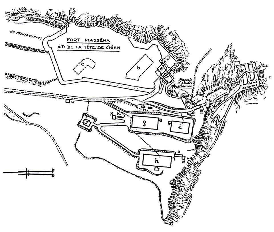 Radar mer, Tête de Chien (La Turbie, 06) 30xh79j