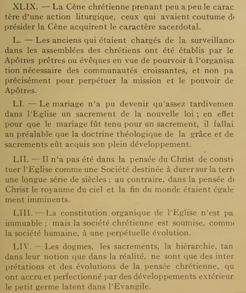Décret «Lamentabili sane exitu» de Saint Pie X, du  3 juillet 1907 343m3v6