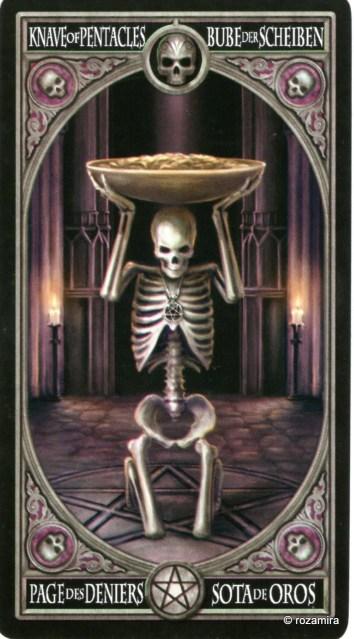Готическое Таро Анны Стокс /Anne Stokes Gothic Tarot   (скан карт) 34g91mh
