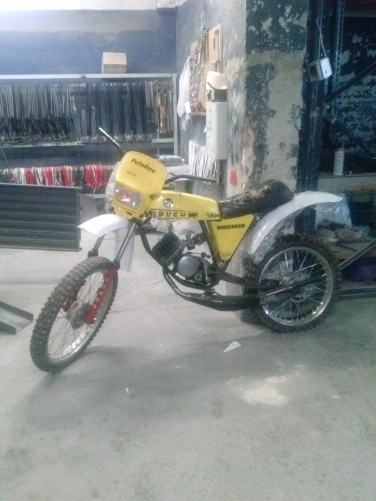 Puch Minicross Super con preparacion Cobra 34s58n4