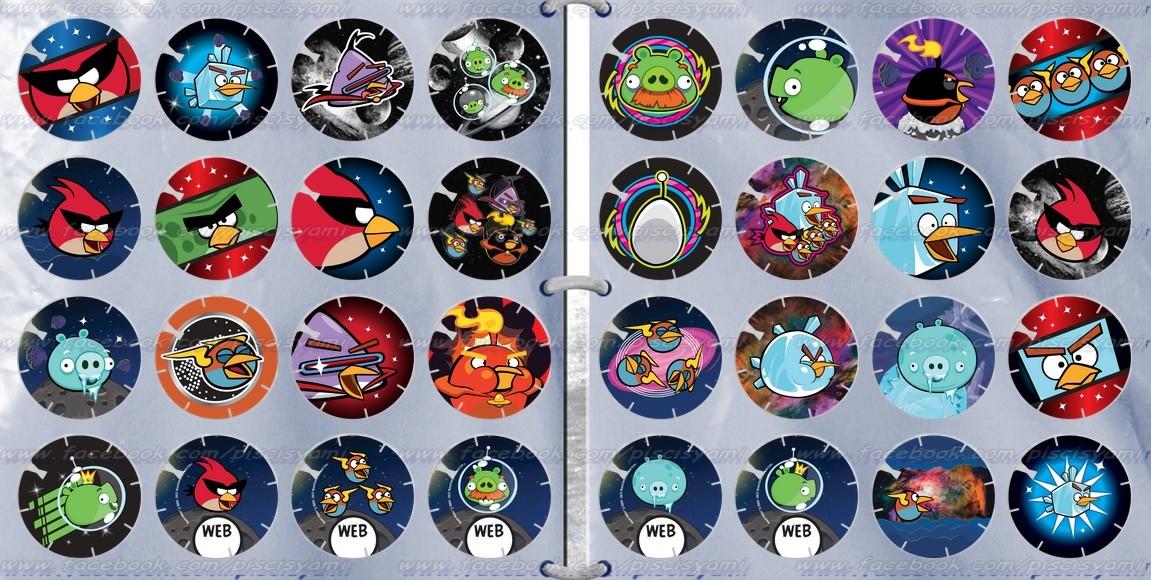 Vuela Tazos de Angry Birds Space 35i867t